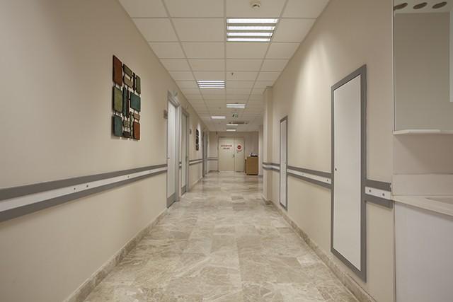 hasta odaları koridor