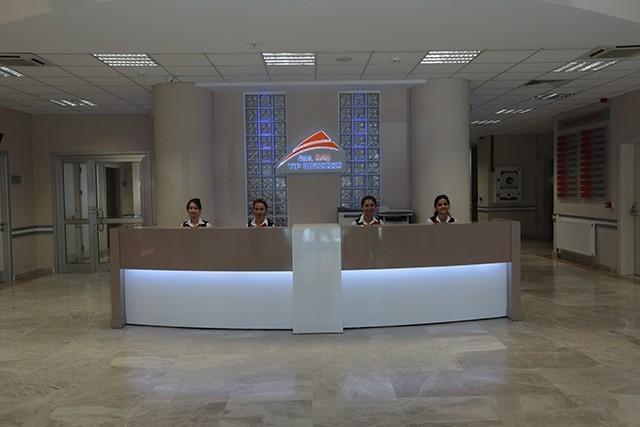 kaş tıp merkezi lobi