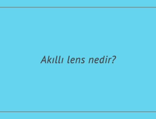 Akıllı lens nedir?