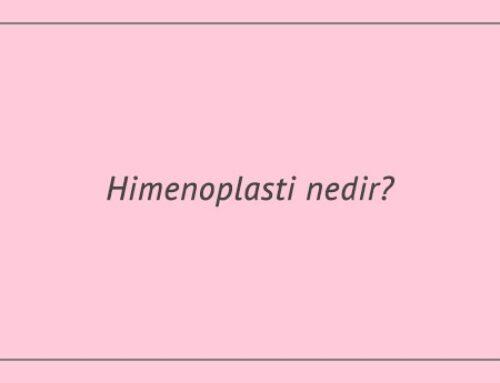 Himenoplasti nedir?