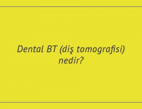 Dental BT (diş tomografisi) nedir?
